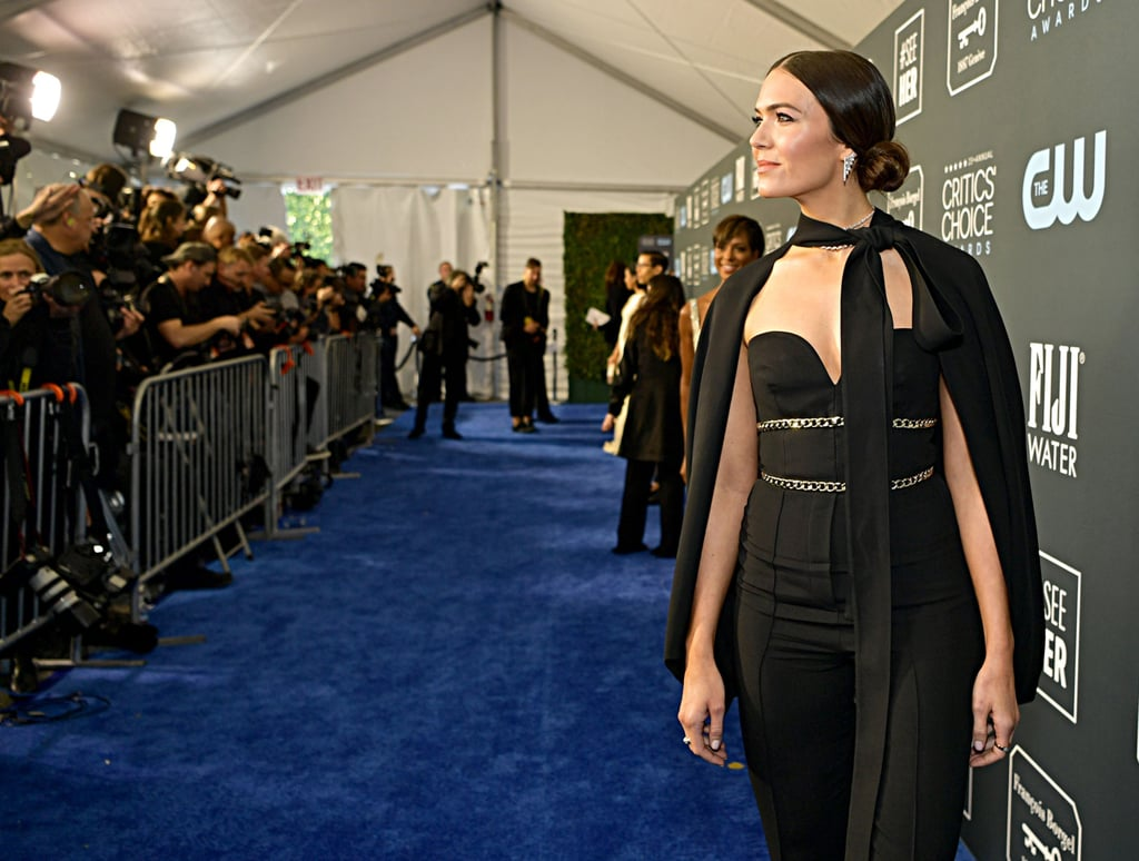 Mandy Moore at the 2020 Critics' Choice Awards