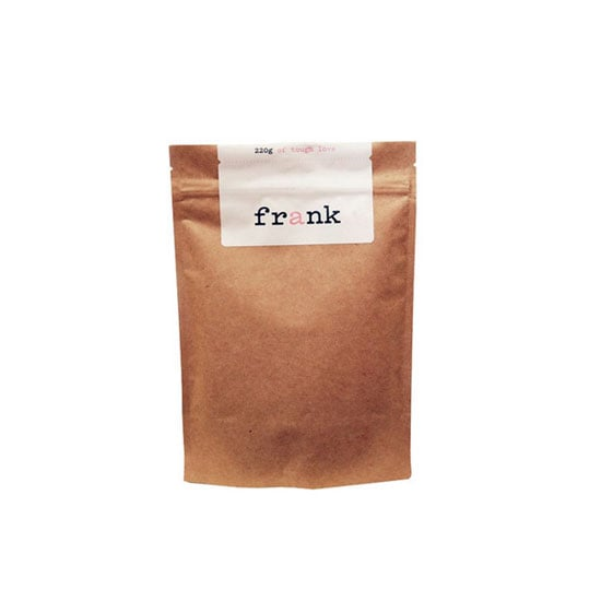 Frank Coffee Scrub, $14.95