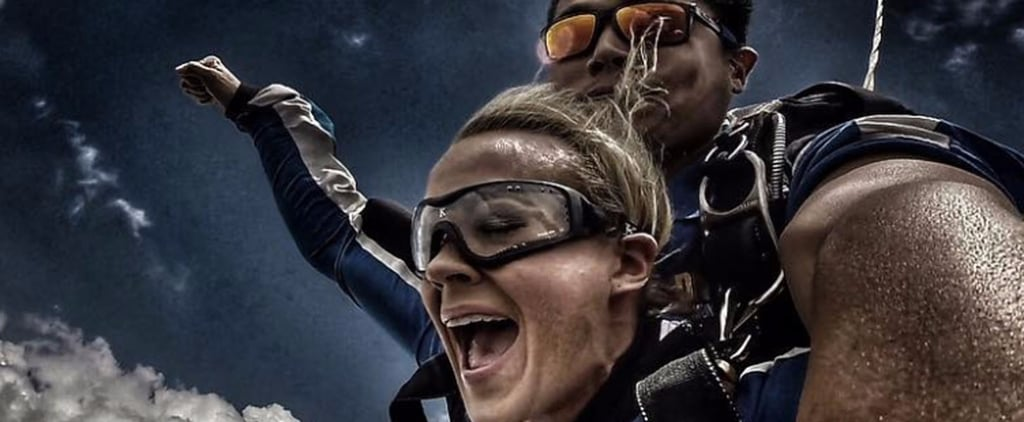 Carrie Underwood's Terrifying Skydiving Photos Might Give You a Fear of Heights