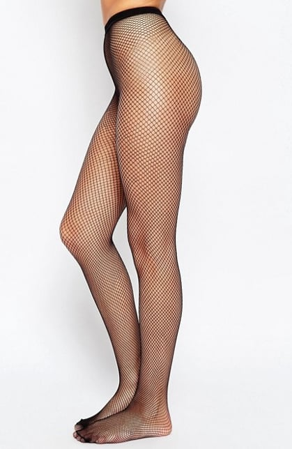 adca37145d6eb Fishnet Stockings: Fishnet Tights, $10 | How to Wear the Fishnet ...