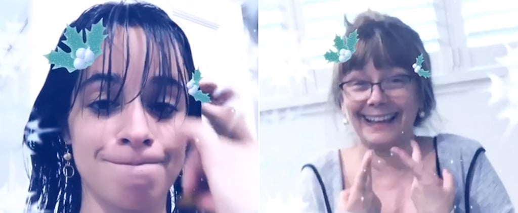Camila Cabello's Mom Cut Her Bangs at Home | Pictures