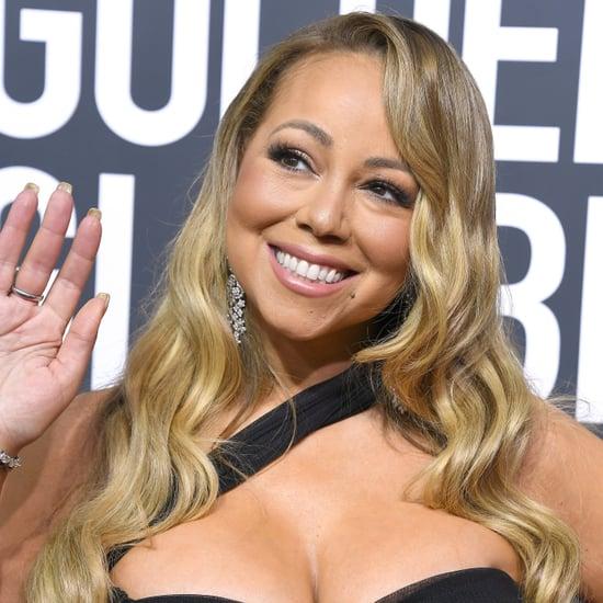 Mariah Carey at the 2018 Golden Globe Awards