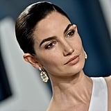 Lily Aldridge at the Vanity Fair Oscars Afterparty 2020