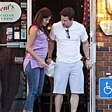 Mark Wahlberg  and Rhea Durham looked cute together on their date night.