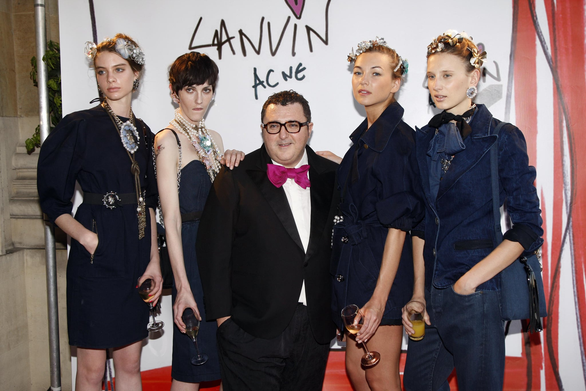 Behind the Seams: Lanvin and Acne Jeans Blue Soiree ...