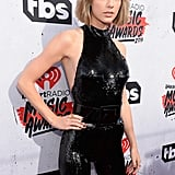 Taylor Styled the Piece With a Statement Ring