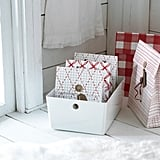 Vinter 2019 Check Pattern Red Gift Bags