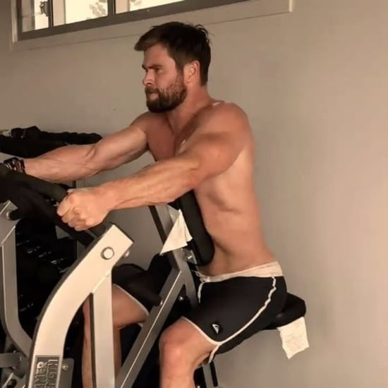 Chris Hemsworth Instagram Workout Video March 2017