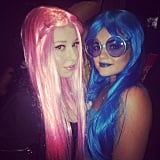 Lucy Hale took a picture with her pal Skyler Shaye, who dressed as  Natalie Portman's character in Closer.