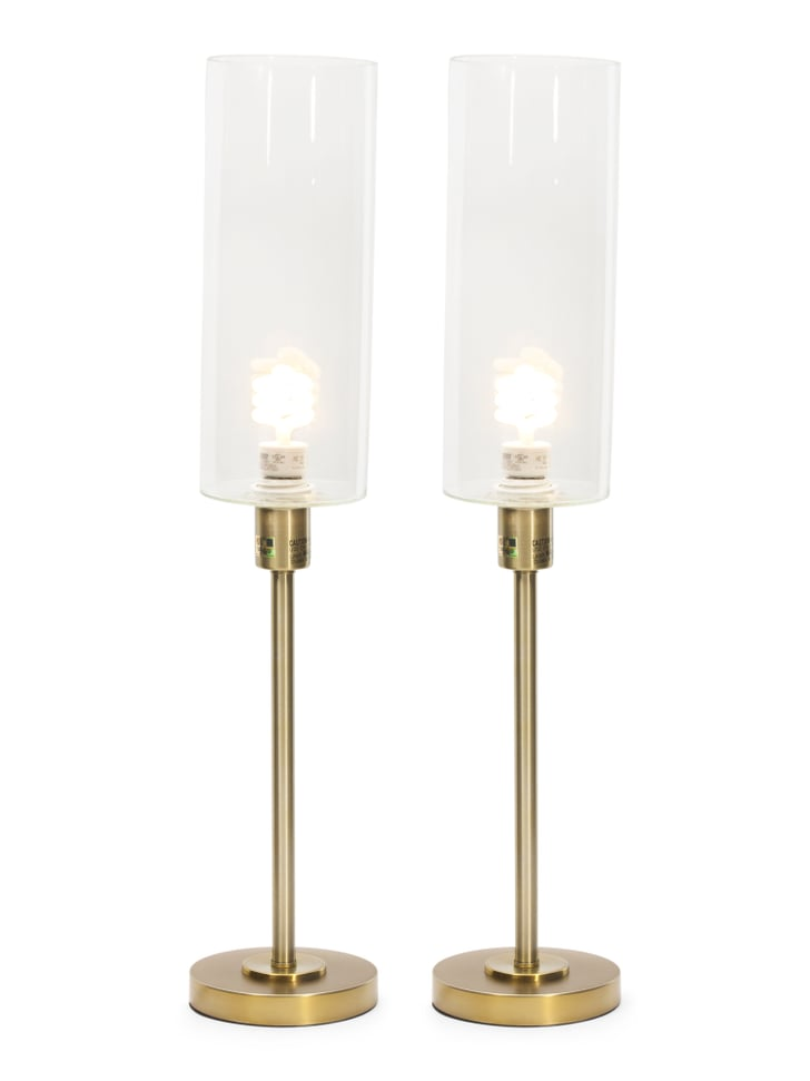 Set Of Two Metal Table Lamps Best Tj Maxx Decor Under
