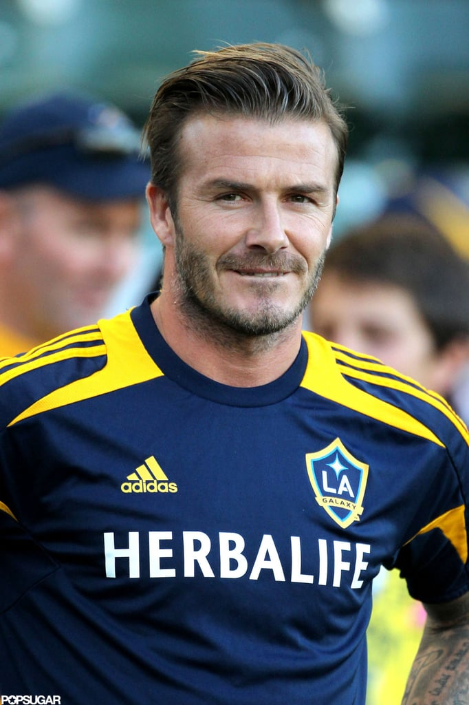 David Beckham played soccer in LA.