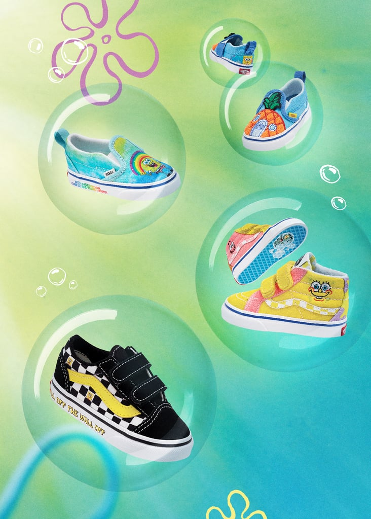 SpongeBob Vans Collection For Toddlers and Kids