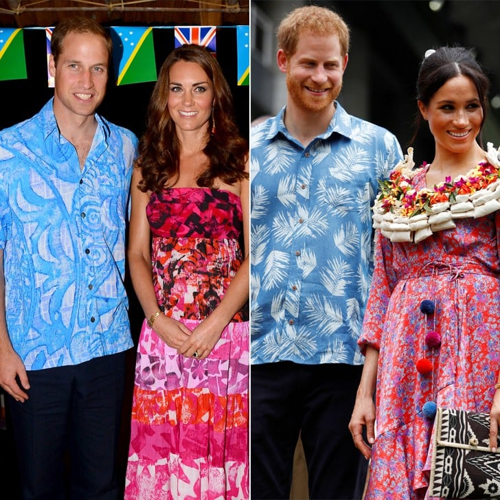 Meghan Markle and Prince Harry Outfits in Fiji