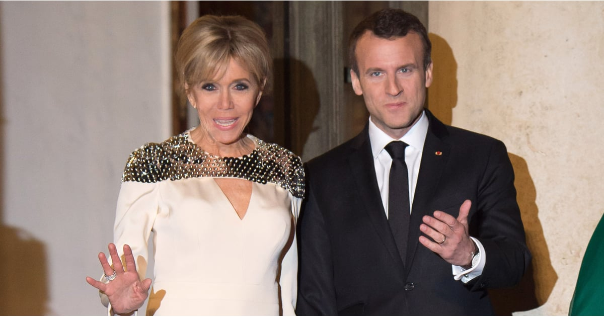 Even If You're Not Familiar With Brigitte Macron, You Can't Deny Her Dress Is Powerfully Captivating