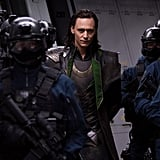 Tom Hiddleston in The Avengers