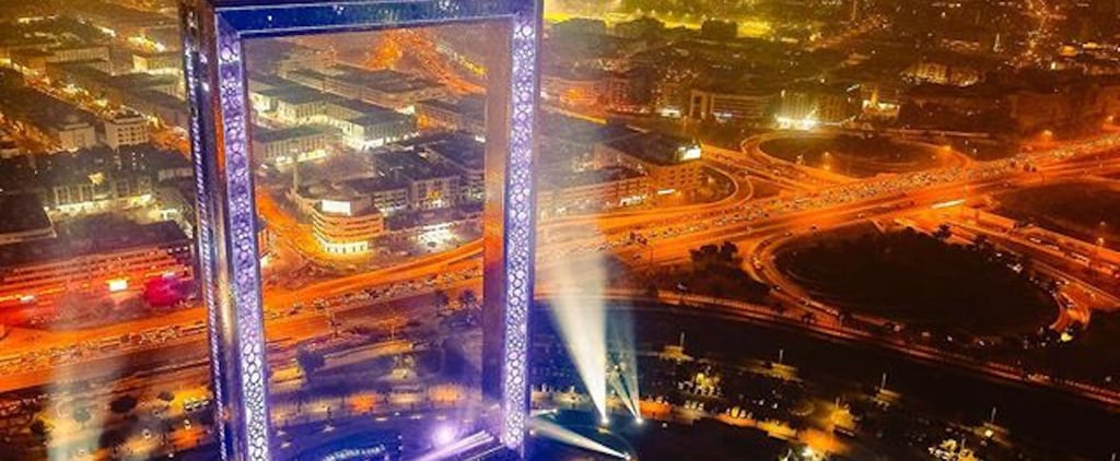 Dubai Frame Closed January 29 and 30