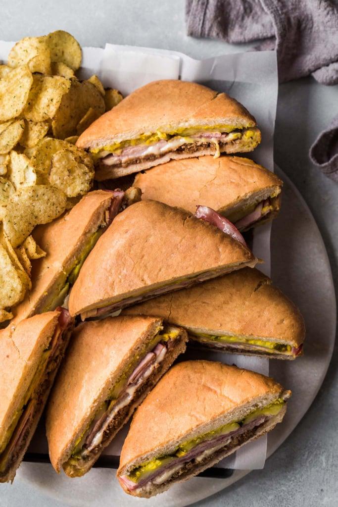 Sheet Pan Cubano Sandwich