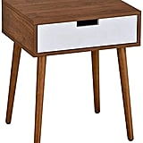 Midcentury Modern Nighstand With Drawer