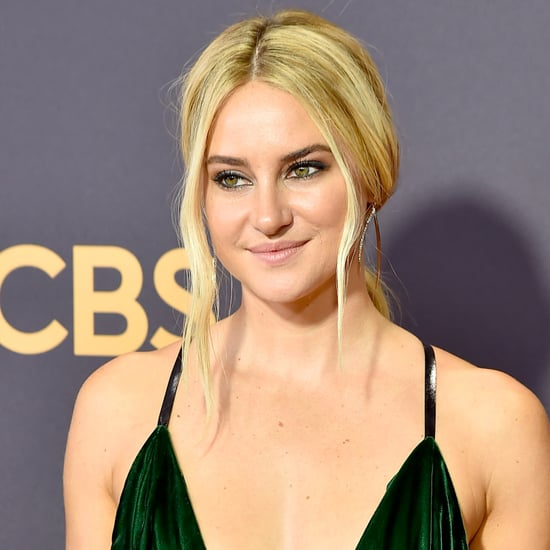 Shailene Woodley Hair at the 2017 Emmys