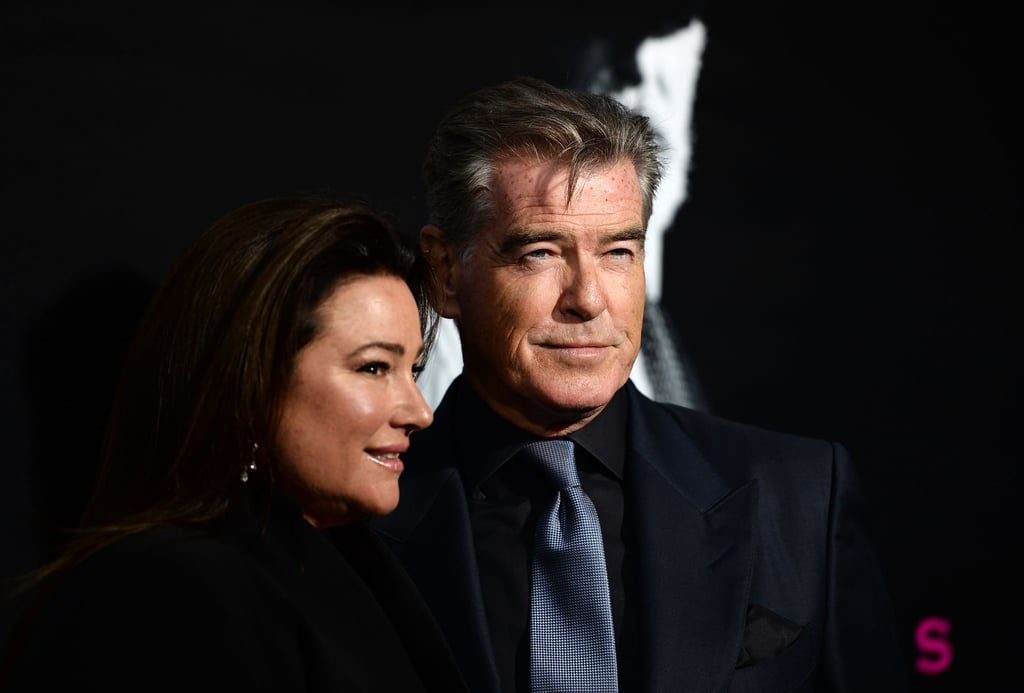 Pierce Brosnan and Wife Keely on the Red Carpet April 2017 ...