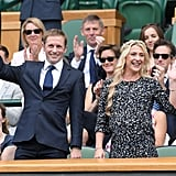 Jason and Laura Kenny at Day 6 of Wimbledon