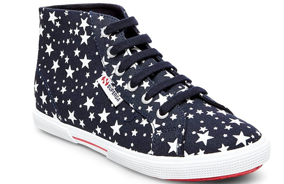 Superga x Target Star Print High Top Sneakers ($35)