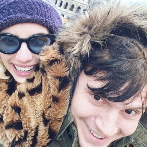Emma Roberts Birthday Message For Evan Peters 2017
