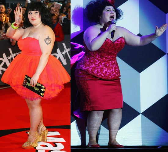 Brit Awards 2008: Which Beth Ditto Outfit Did You Prefer?
