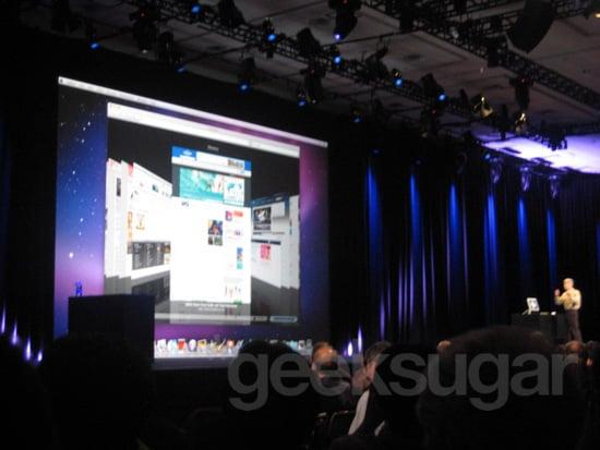 Apple Keynote 2009 WWDC New Snow Leopard Technologies