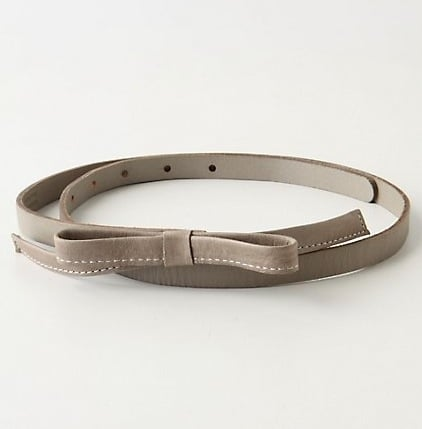 Anthropologie Soft Bow Belt ($28)