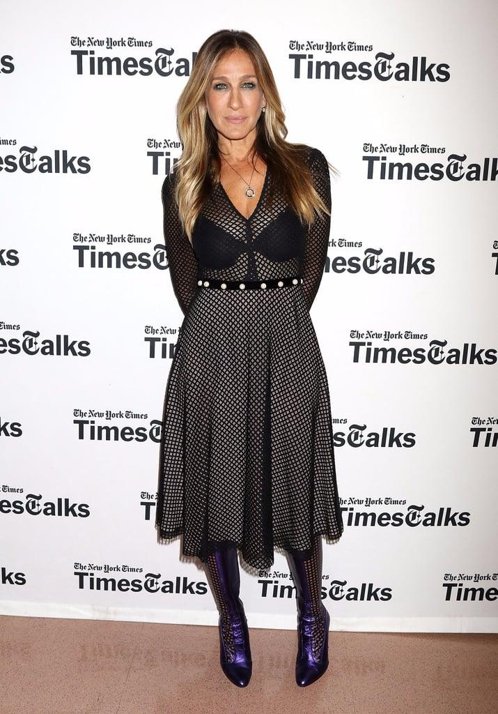 Sarah Jessica Parker's See-Through Dress at TimesTalks 2016
