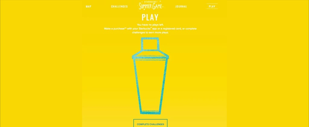 Obsessed With Starbucks? Then You Need to Check Out Its Summer Game
