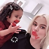 Dream Gives Khloé Kardashian a Makeover