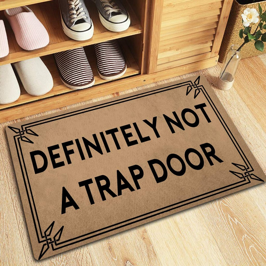 Definitely Not a Trap Door Doormat