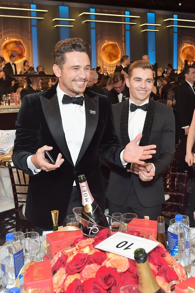 Pictured: James and Dave Franco