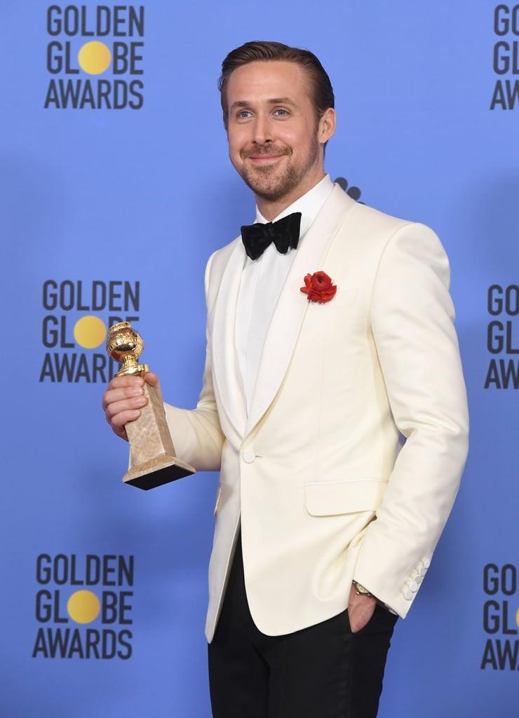 golden globe 2017 ryan gosling ile ilgili görsel sonucu