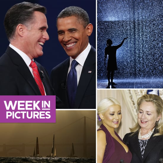 Candidates Duke It Out, Hillary Clinton Bonds With Christina Aguilera, and Fashion Week Finishes