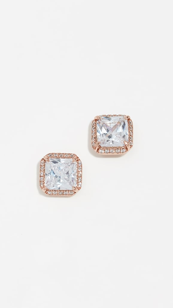 Kate Spade New York Save the Date Pave Stud Earrings