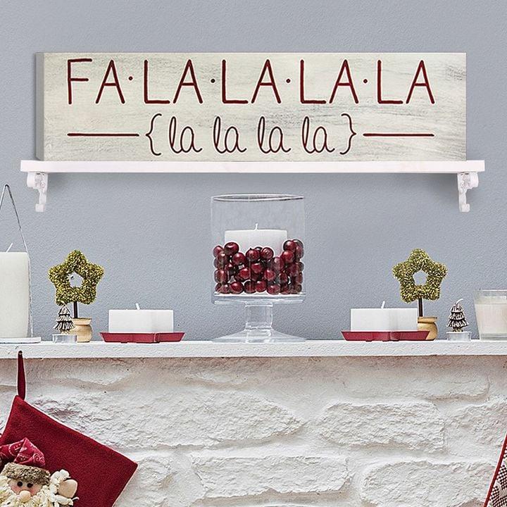 """""""Fa La La"""" Wall Art"""