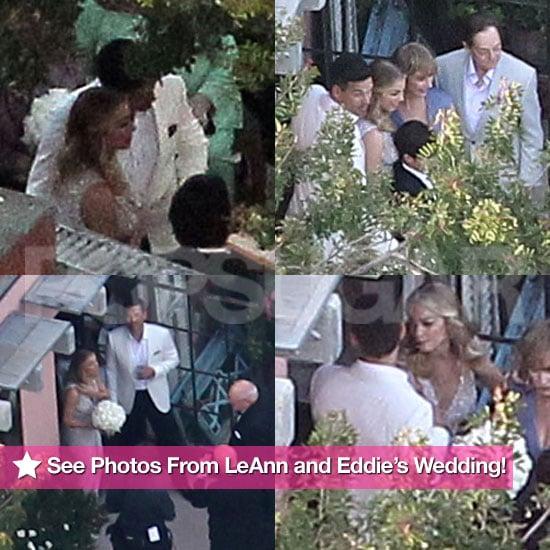 Leann Rimes Eddie Cibrian Wedding