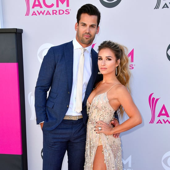 Jessie James and Eric Decker at the 2017 ACM Awards