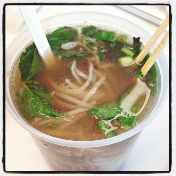 New rule in the office: must have emergency bowls at the ready for pho cravings.