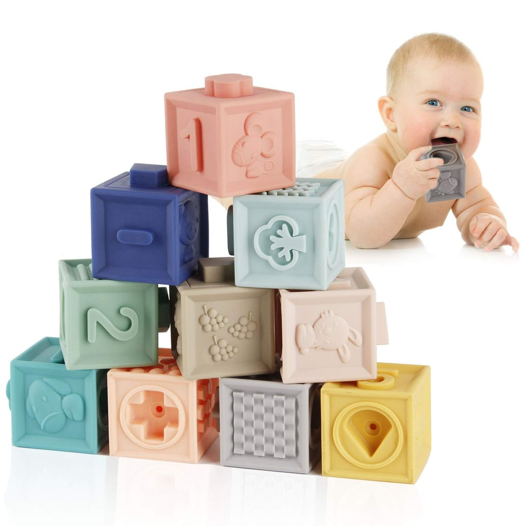 Mini Tudou Baby Blocks Soft Building Blocks