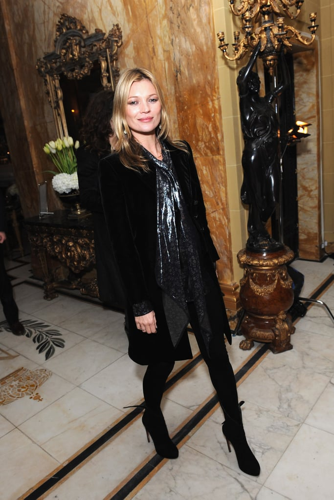 Kate Moss and Jamie Hince Have a Romantic Night at a Temporary Club