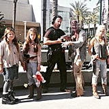The Walking Dead has reached Anaheim, CA!