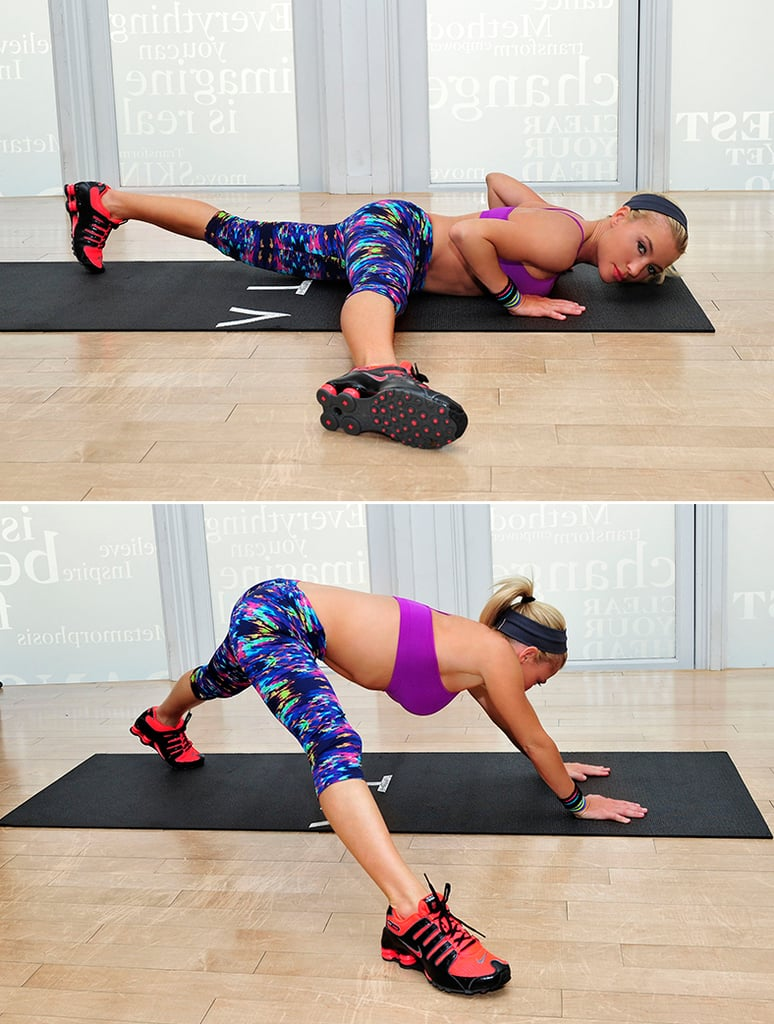 Exercise 4: Press Split Stretch
