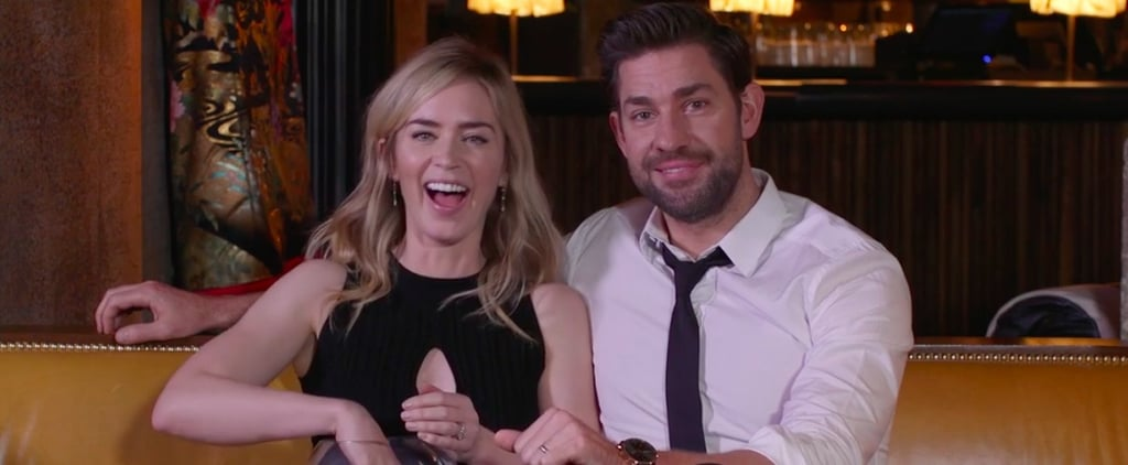 Emily Blunt and John Krasinski The Hollywood Reporter Video