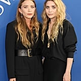 Mary-Kate and Ashley Olsen Wearing All-Black