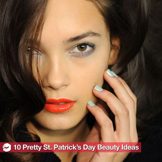 Pretty Saint Patrick's Day Hair and Makeup Ideas