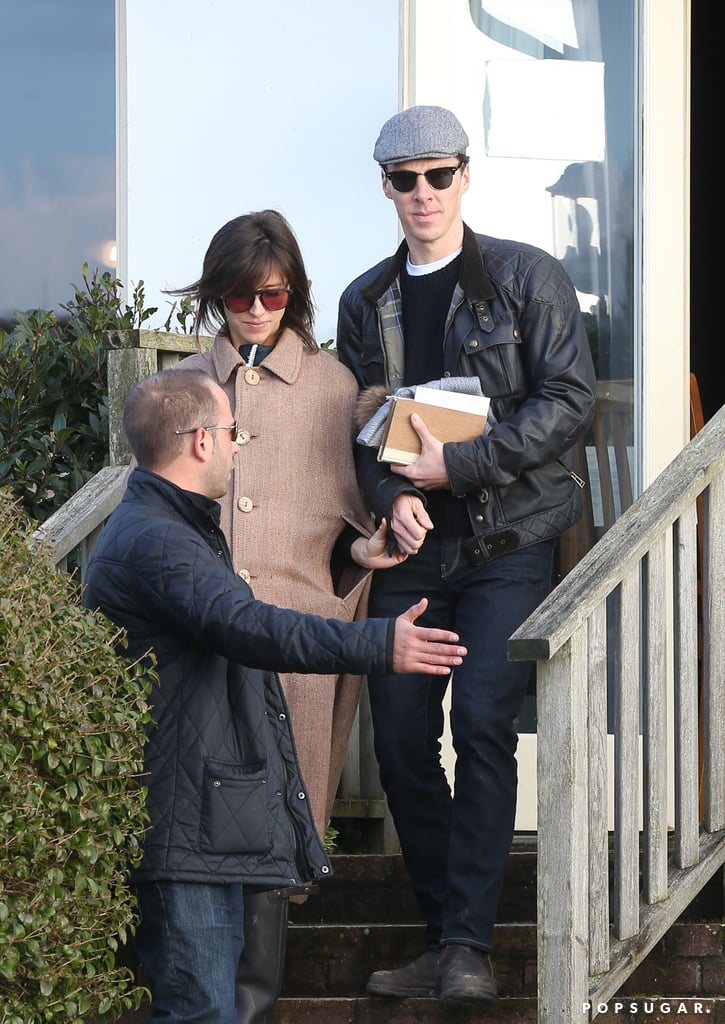 Benedict Cumberbatch and Sophie Hunter After Wedding | Photo